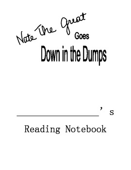 Nate the Great Goes Down in the Dumps Reading Comprehensio