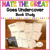 Nate the Great Goes Undercover Book Study