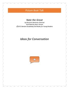 Nate the Great: Ideas for Conversation