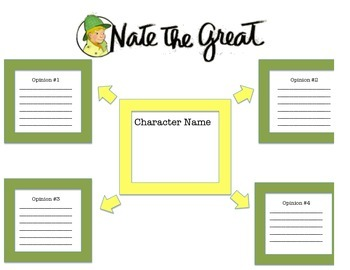 Nate the Great Opinion Graphic Organizer