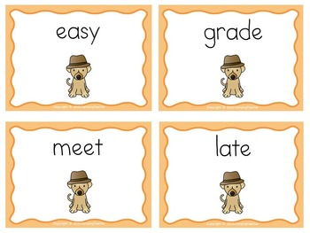 Nate the Great San Francisco Detective Story Study and Word Sort Long a and e