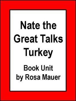 Nate the Great Talks Turkey Book Unit