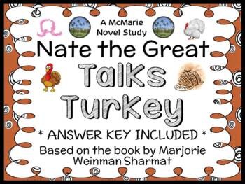 Nate the Great Talks Turkey (Weinman Sharmat) Novel Study / Comprehension