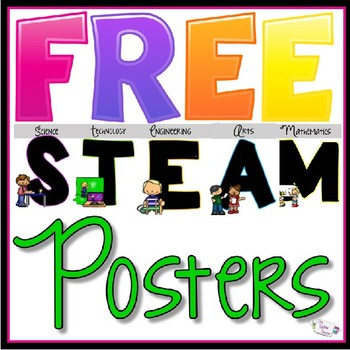 photo about Give Me Five Poster Printable Free referred to as STEM/STEAM Posters