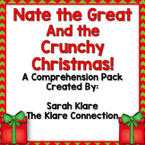 Nate the Great and The Crunchy Christmas Literacy Unit