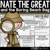 Nate the Great and the Boring Beach Bag | Printable and Digital