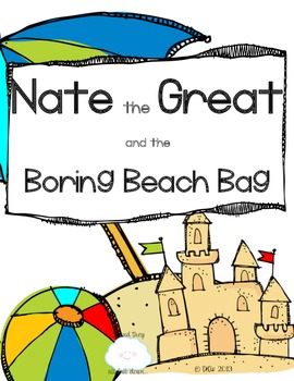 Nate the Great and the Boring Beach Bag {comprehension questions and activities}