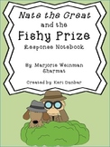 Nate the Great and the Fishy Prize Response Notebook (18 pages)