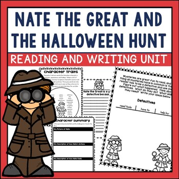 Nate the Great and the Halloween Hunt Book Companion