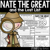 Nate the Great and the Lost List | Printable and Digital