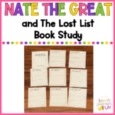 Nate the Great and the Lost List Book Study
