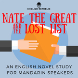 Nate the Great and the Lost List, an English Novel Study for Mandarin Speakers