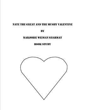 """""""Nate the Great and the Mushy Valentine"""" Book Study"""