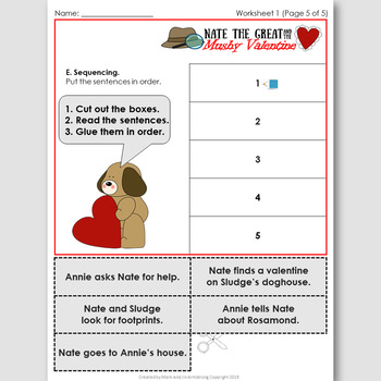 Nate the Great and the Mushy Valentine, an EFL Novel Study for Spanish Speakers
