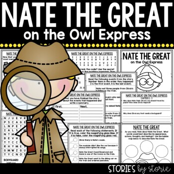 Nate the Great and the Owl Express