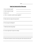 Nate the Great and the Pillowcase Comprehension Quiz