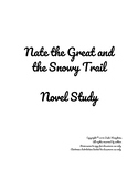 Nate the Great and  the Snowy Trail Novel Study