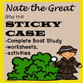 Nate the Great and the Sticky Case No Prep Reading Lesson