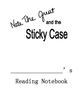 Nate the Great and the Sticky Case Reading Notebook (Comprehension Questions)