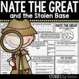 Nate the Great and the Stolen Base | Printable and Digital