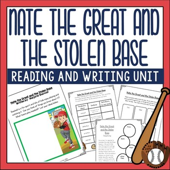 Nate the Great and the Stolen Base Guided Reading Unit.