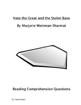 Nate the Great and the Stolen Base Reading Comprehension Questions