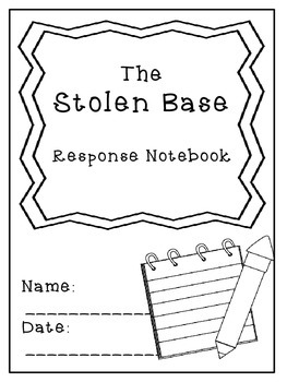 Nate the Great and the Stolen Base Response Notebook