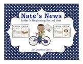 Nate's News - Letter N Beginning Sound Sort