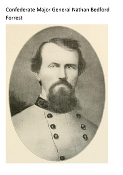 Nathan Bedford Forrest Word Search