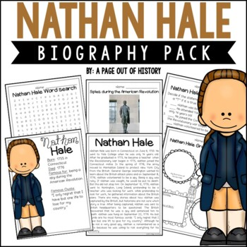 Nathan Hale Biography Pack (Revolutionary Americans)