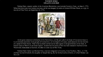 Nathan Hale Illustrated Powerpoint