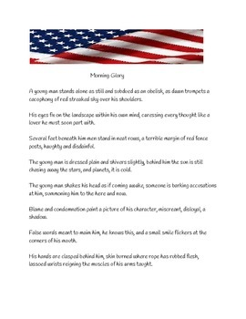 Nathan Hale Poem (Morning Glory) A Revolutionary War Hero