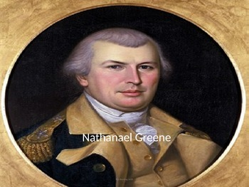 Nathanael (Nathaniel) Greene Power Point - Full life histo