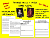 Nathaniel Bacon's Rebellion Debate