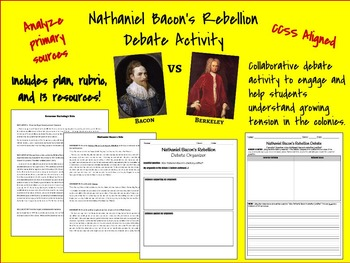 Nathaniel Bacon's Rebellion Debate