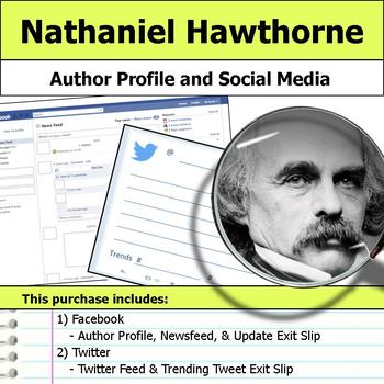 Nathaniel Hawthorne - Author Study - Profile and Social Media