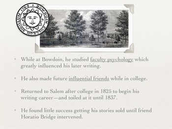 Nathaniel Hawthorne Biography and Background