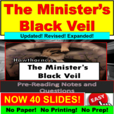 "Nathaniel Hawthorne's ""The Minister's Black Veil"" PowerPoint"