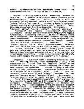 "Nathaniel Hawthorne's ""The Scarlet Letter"" Handout"