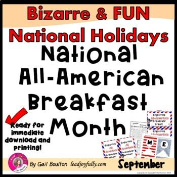 National All-American Breakfast Month (September)