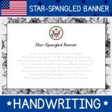 National Anthem of the United Sates of American Star-Spang