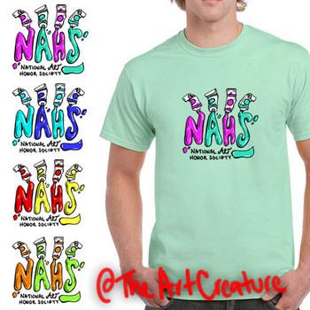 National Art Honor Society TShirt Design NAHS