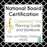 National Board Certification EMC Music Component 1 Plannin