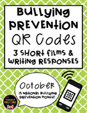 National Bullying Prevention - QR Code Video/ Writing Resp