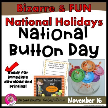 National Button Day (November 16th)
