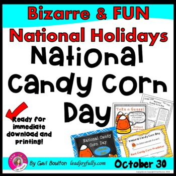 National Candy Corn Day (October 30th)