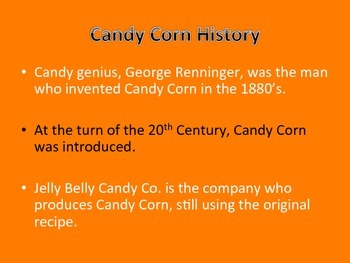 National Candy Corn Day Power Point and Notes Page