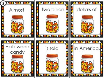 National Candy Corn Day Sentence Scramble