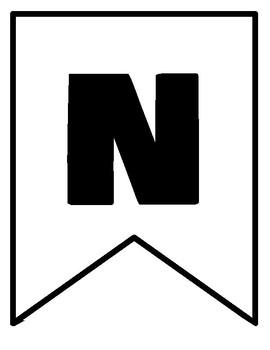 National Chemistry Week Banner - Simple, Black & White