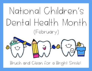 National Children's Dental Health Month - Poster